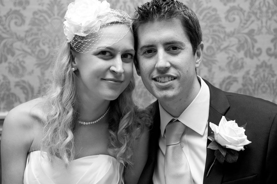bride and groom mulberry house essex