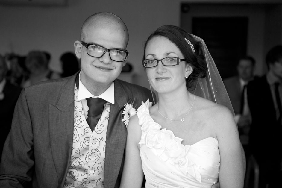 bride and groom prested hall essex