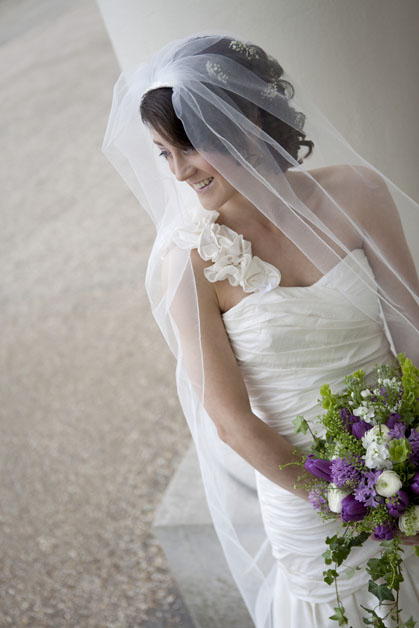 bride at Hylands House Chelmsford