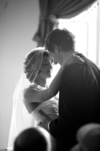 emotional wedding at Hylands House Chelmsford