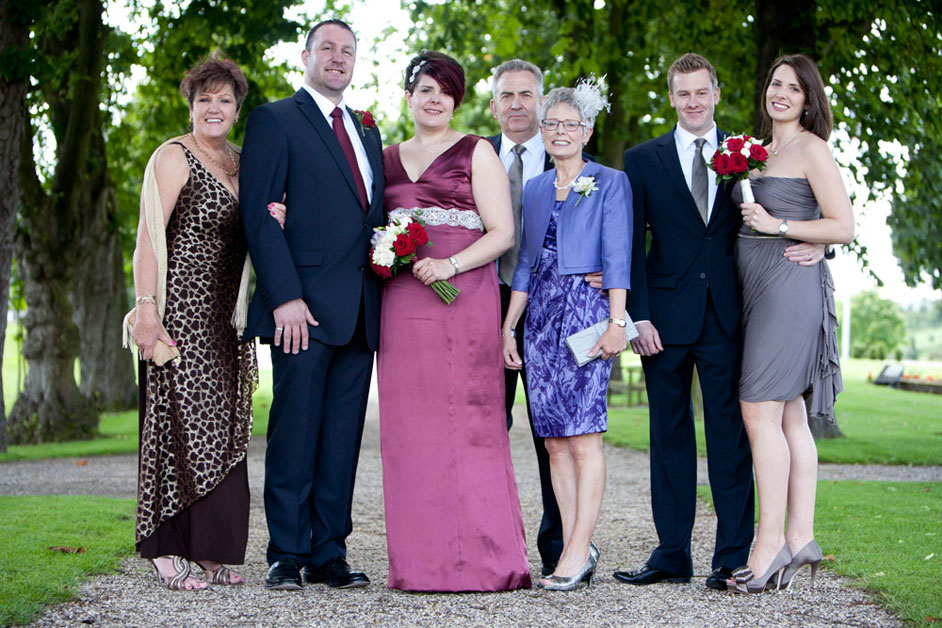 wedding group photography Channels Essex