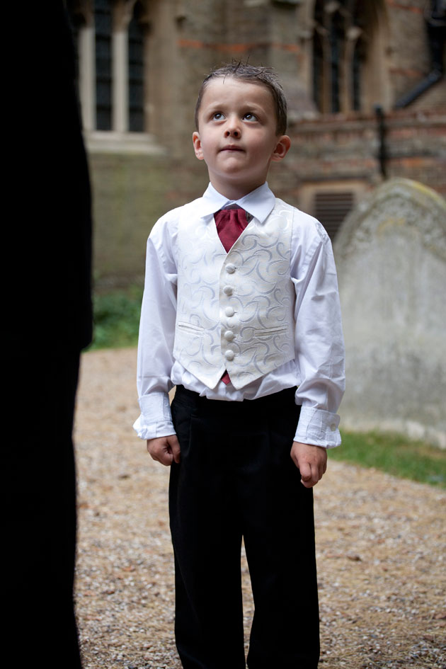 page boy essex wedding