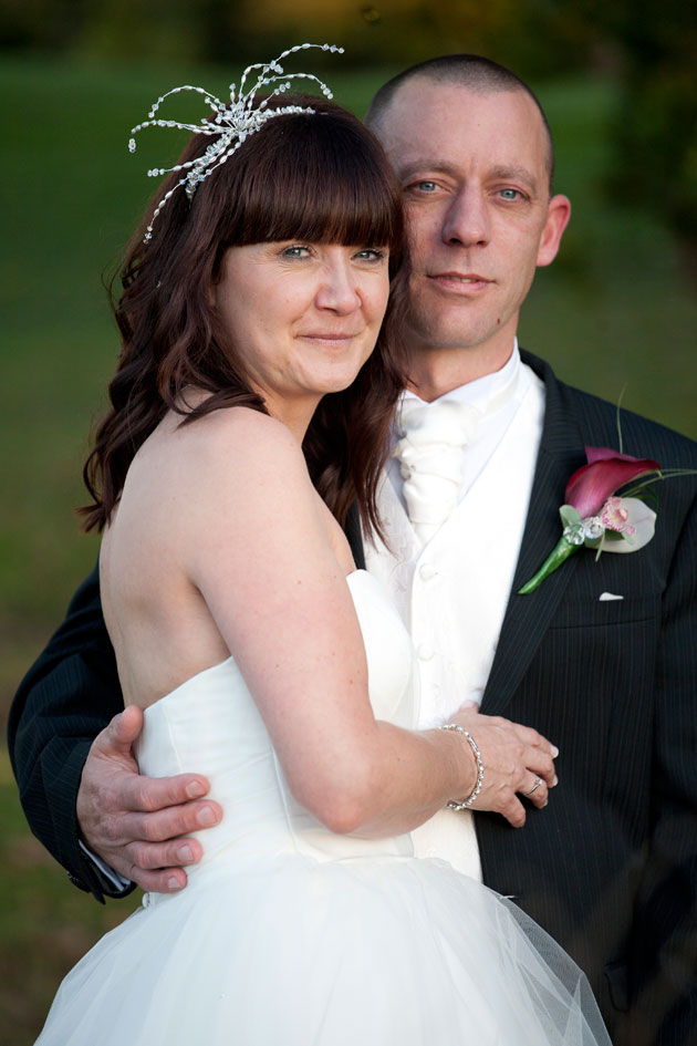 groom with bride colne valley golf club