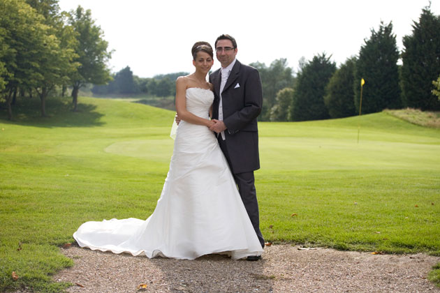 wedding couple channels golf club