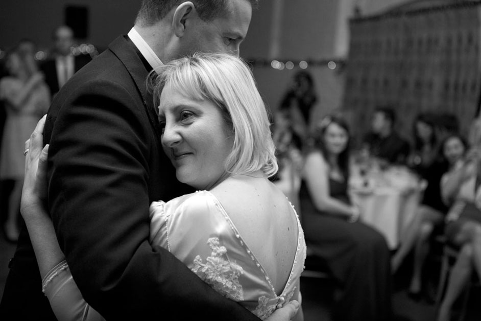 emotive photography of first dance