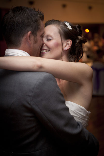 natural photography of the first dance