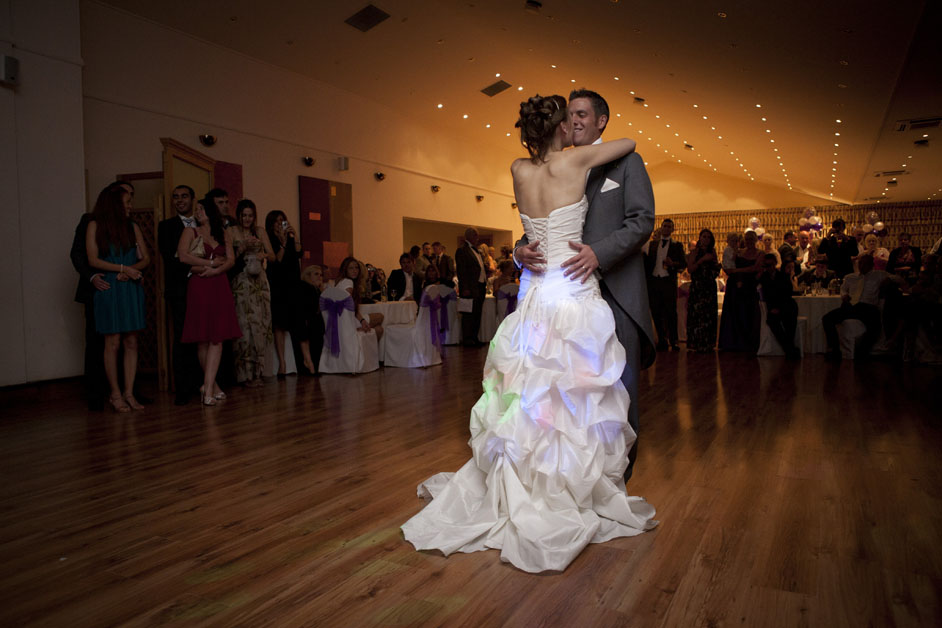 first dance at Three Rivers Essex