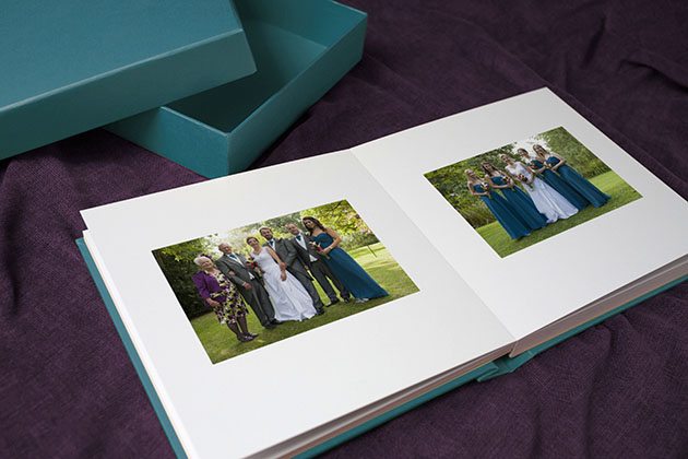 Colourplan wedding albums