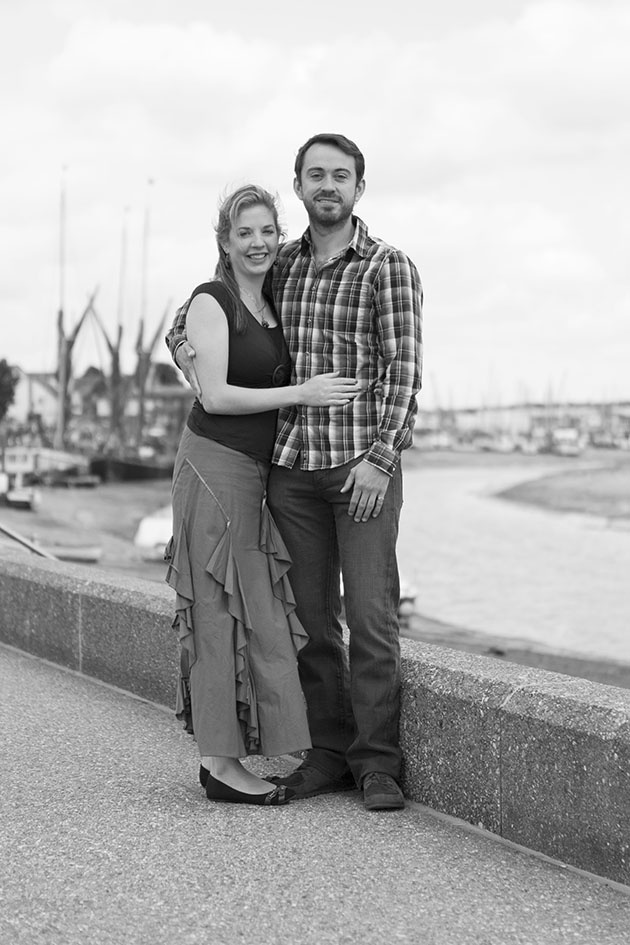 pre-wed portrait session in Maldon Essex