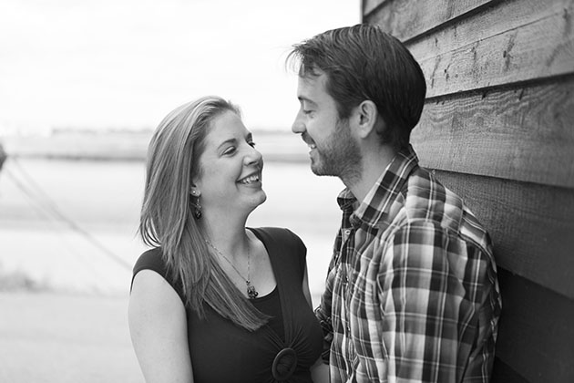 pre-wed photo session Blackwater Estuary Essex
