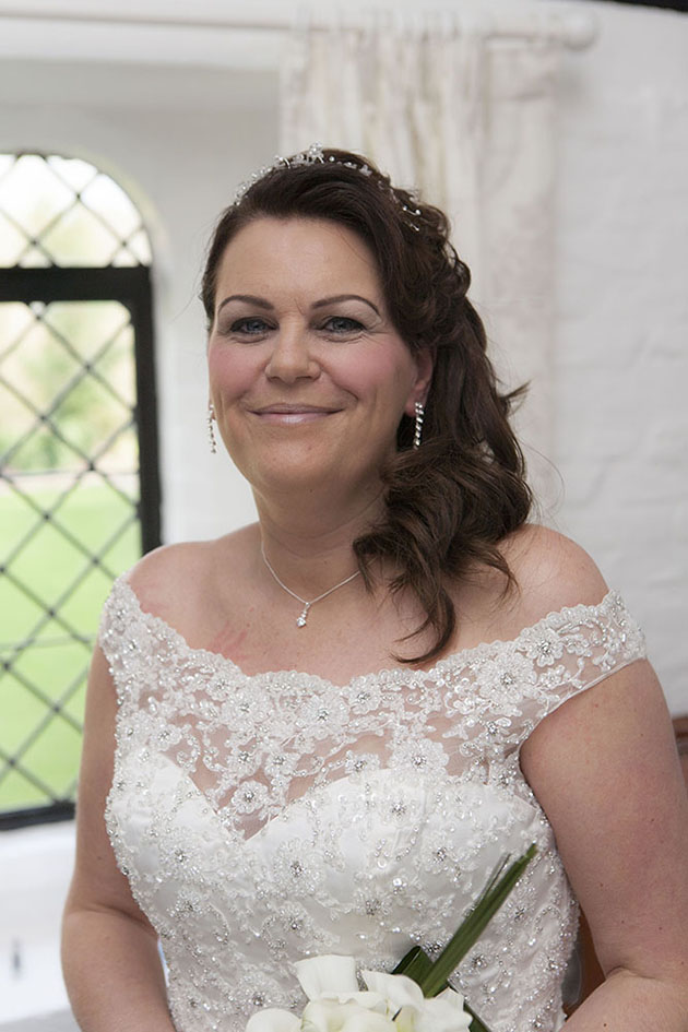 Leez Priory Wedding Bride