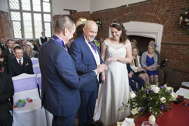 Leez Priory Wedding Ceremony 04 056