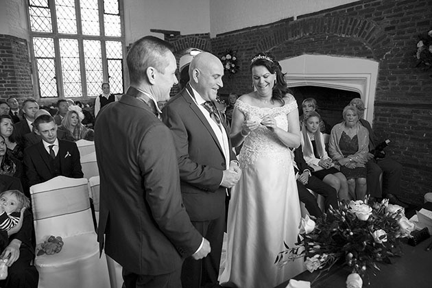 Leez Priory Wedding Ceremony 04 060
